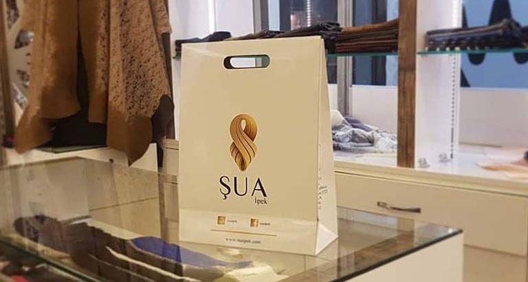 Şua İpek Karton Çanta Modeli – Bursa