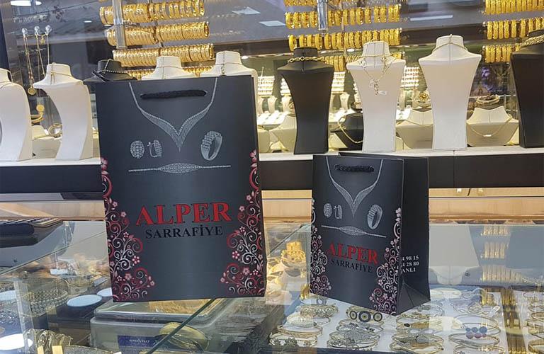 Alper Sarrafiye Karton Çanta Modeli – Kütahya