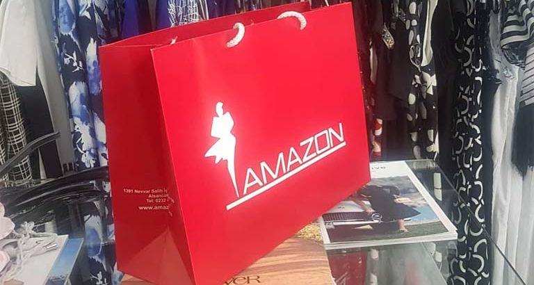 Amazon Giyim Karton Çanta Modeli – İzmir
