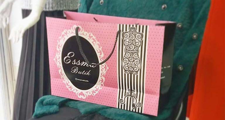 Butik Esma Karton Çanta Modeli – Kütahya