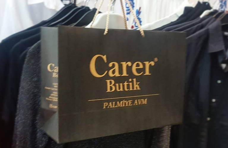 Carer Butik Karton Çanta Modeli – İzmir