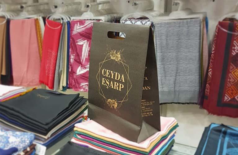 Ceyda Eşarp Karton Çanta Modeli – Odunpazarı Eskişehir