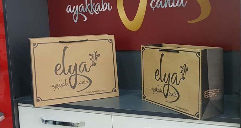 Elya Ayakkabı Karton Çanta Modeli – Denizli