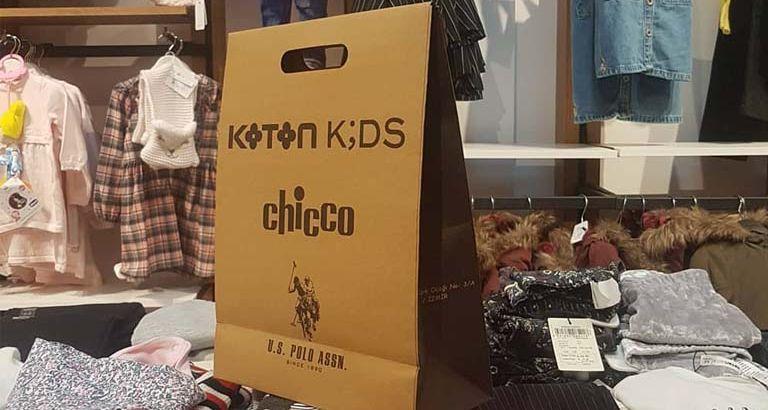 Koton Kids Karton Çanta Modeli – Kemalpaşa İzmir