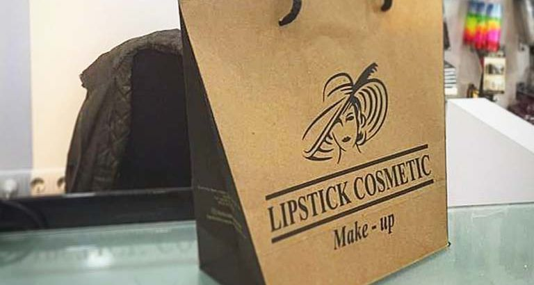 Lipstick Cosmetic Karton Çanta Modeli – Uşak