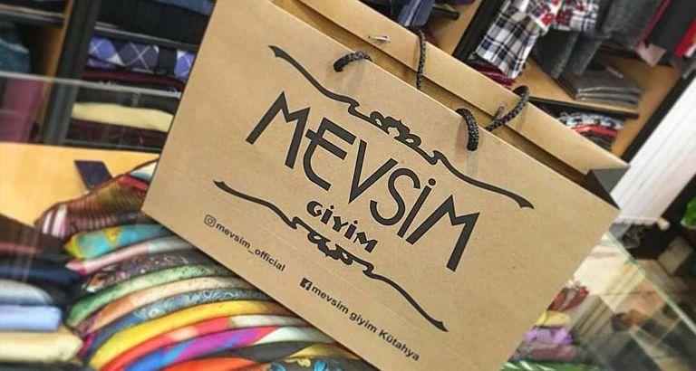 Mevsim Giyim Karton Çanta Modeli – Kütahya