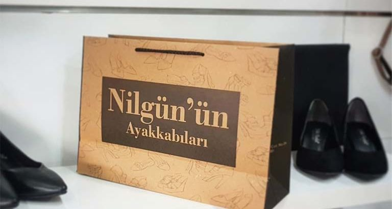 Nilgün'ün Ayakkabıları Karton Çanta Modeli – Aydın