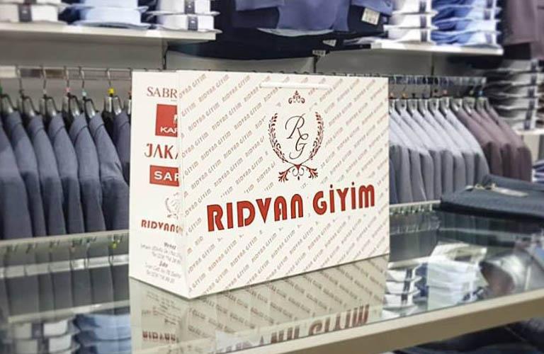 Rıdvan Giyim Karton Çanta Modeli – Salihli Manisa