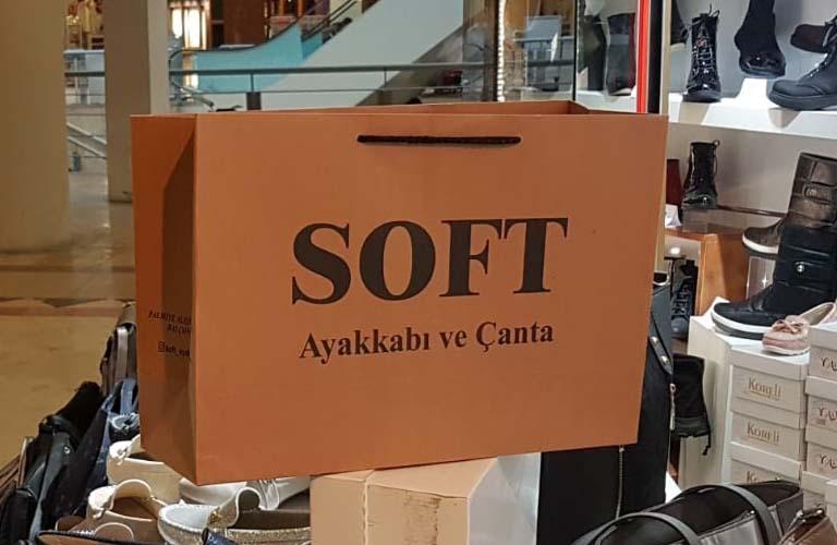 Soft Ayakkabı Karton Çanta Modeli – Balçova İzmir